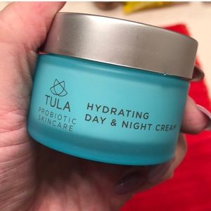 TULA cleanser AND moisturizer